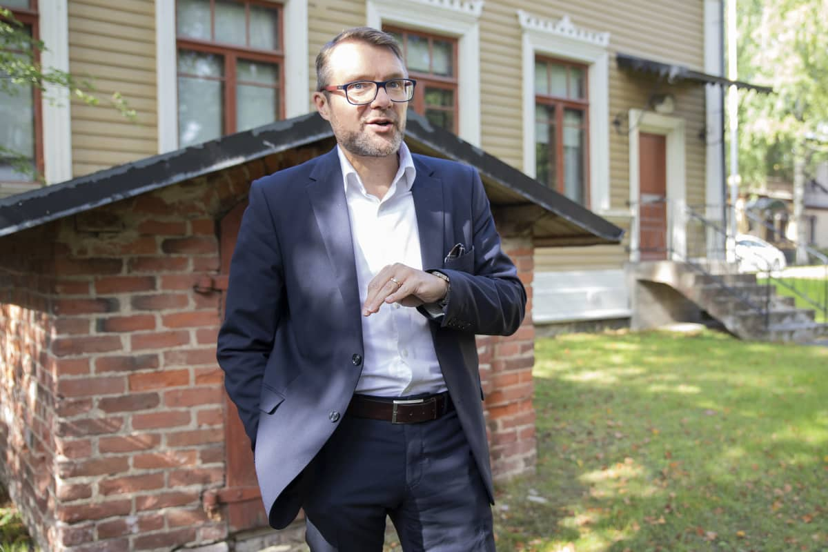 Pohjois-Savon maakuntajohtaja Marko Korhonen.