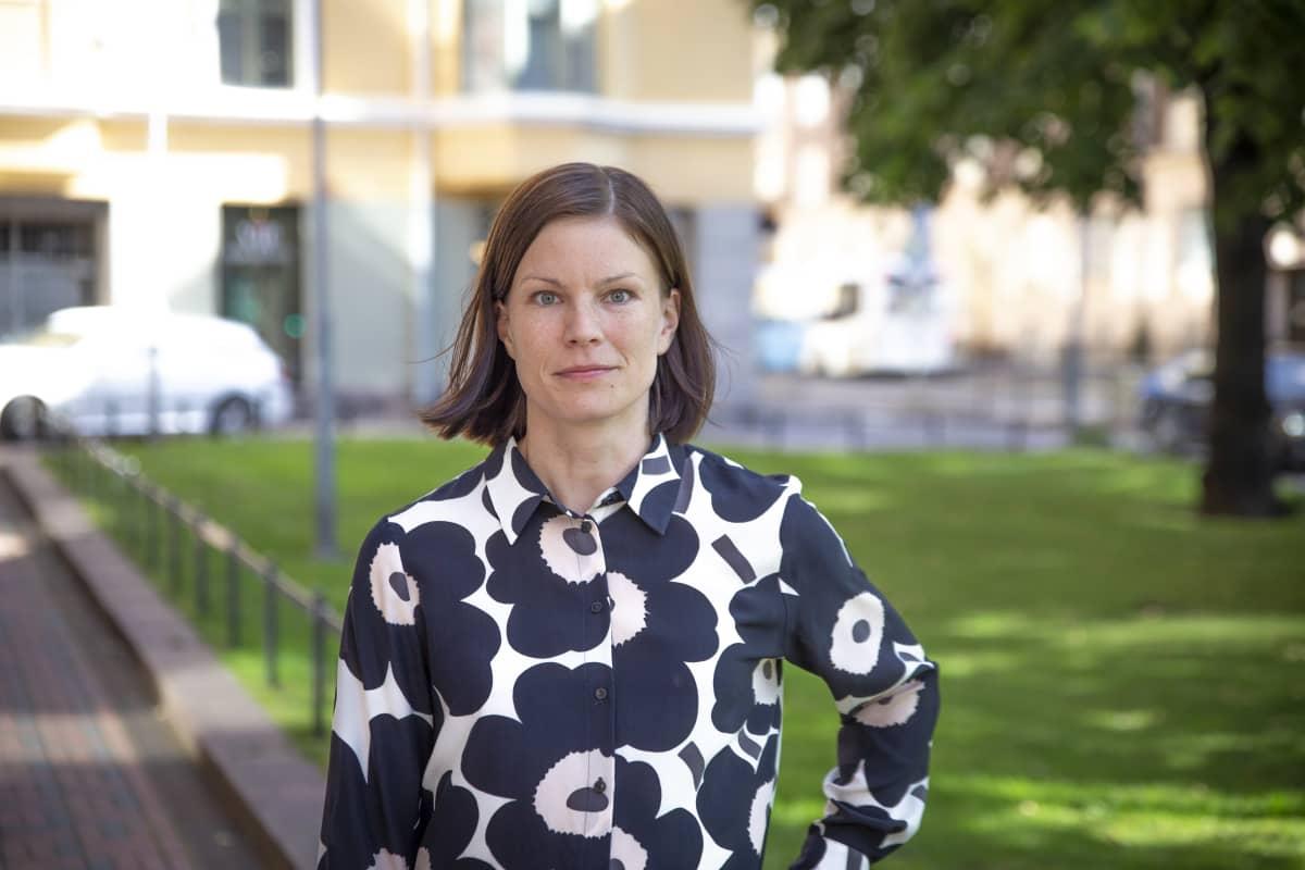 Evan ekonomisti Sanna Kurronen.
