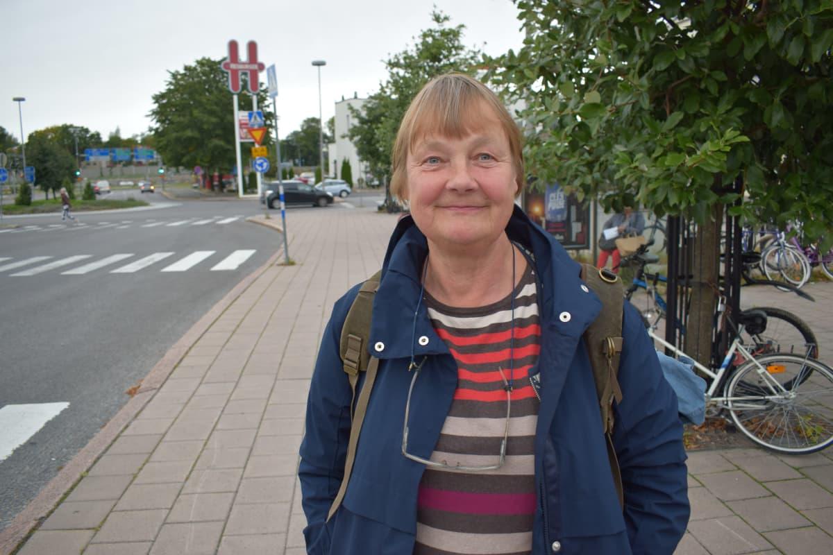 Kirsi Arino oli matkalla Raisiosta Helsinkiin.