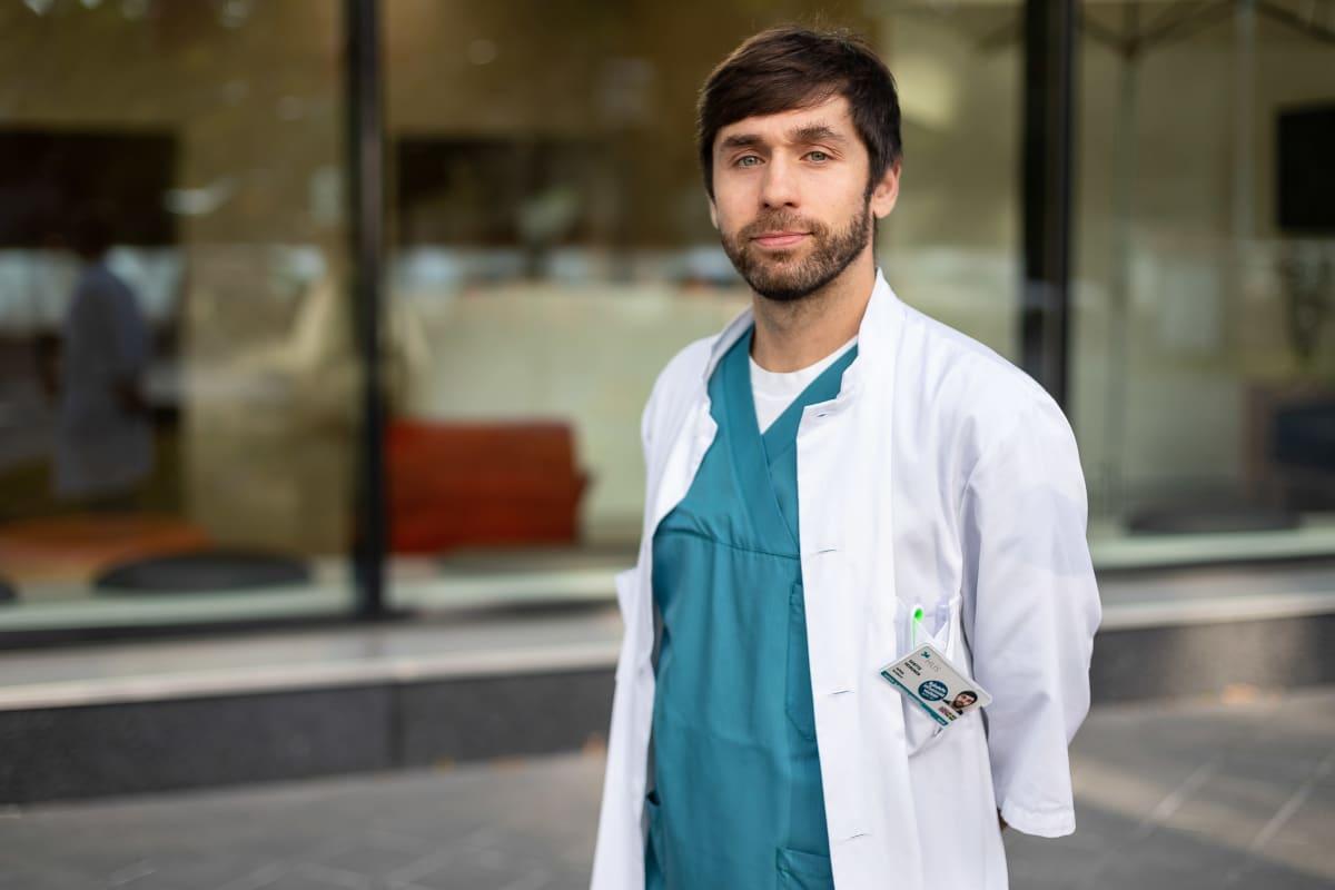 lastenlääkäri, tutkija Santtu Heinonen
