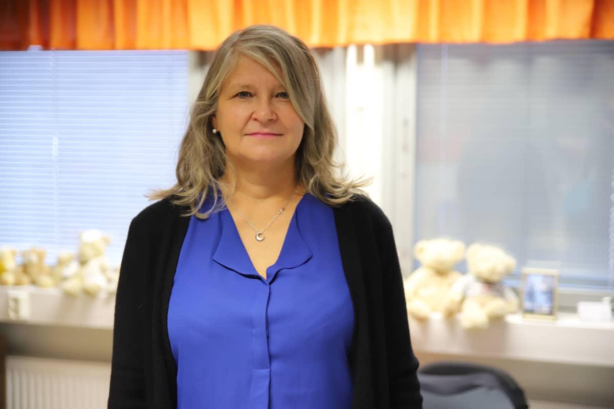 Eskolanmäen koulun rehtori Teija Toppila-Mörsky.