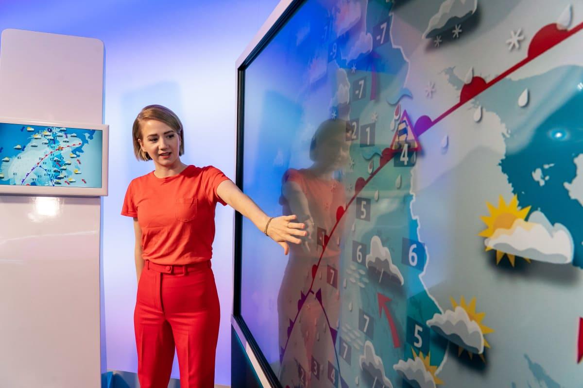 Meteorologi Anniina Valtonen.