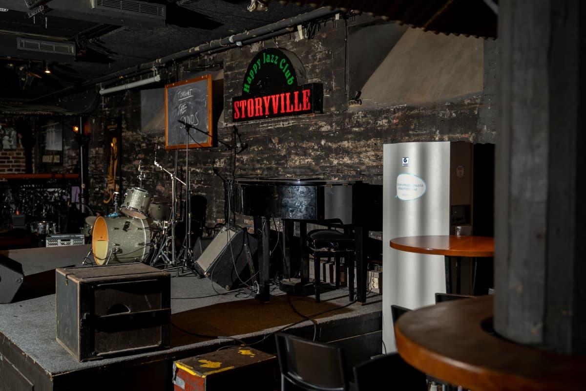 Ravintola Storyville.