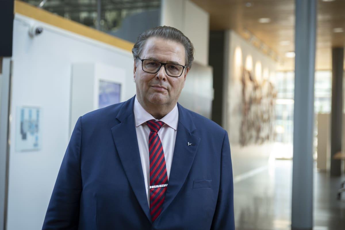 Metsä Groupin pääjohtaja Ilkka Hämälä