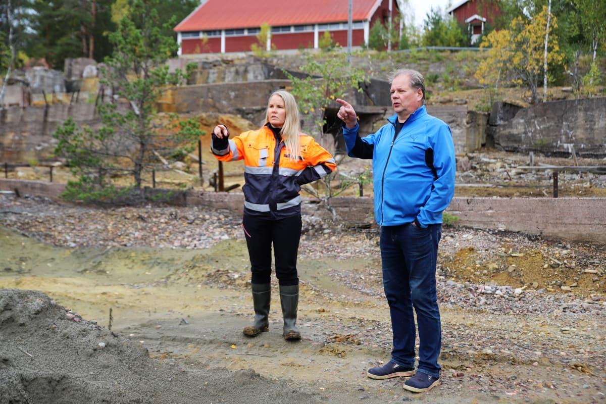 Kaisa Turunen ja Pekka Mölsä