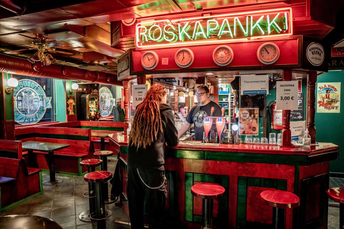 Ravintola Roskapankin ravintolapäälikkö Kalle Seperi