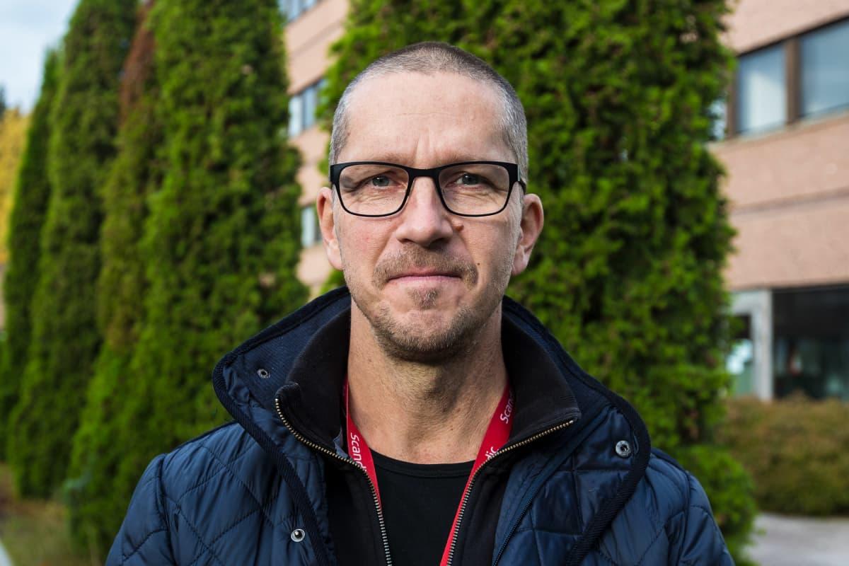 Nokian Eden kylpylän toimitusjohtaja Marco Sylvelin.