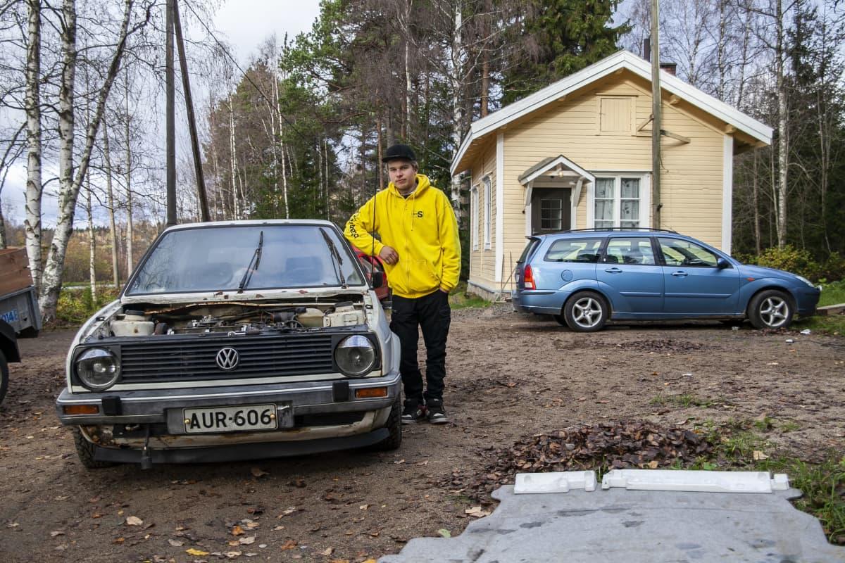 nuori perussuomalaisten ehdokas Valtteri Roivainen, Iisalmi