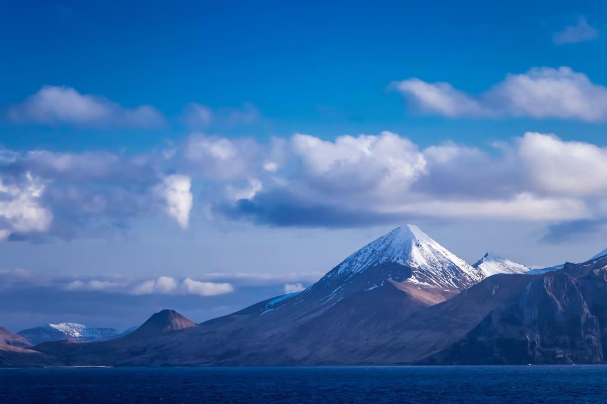 Aleutien saaret Alaskassa.