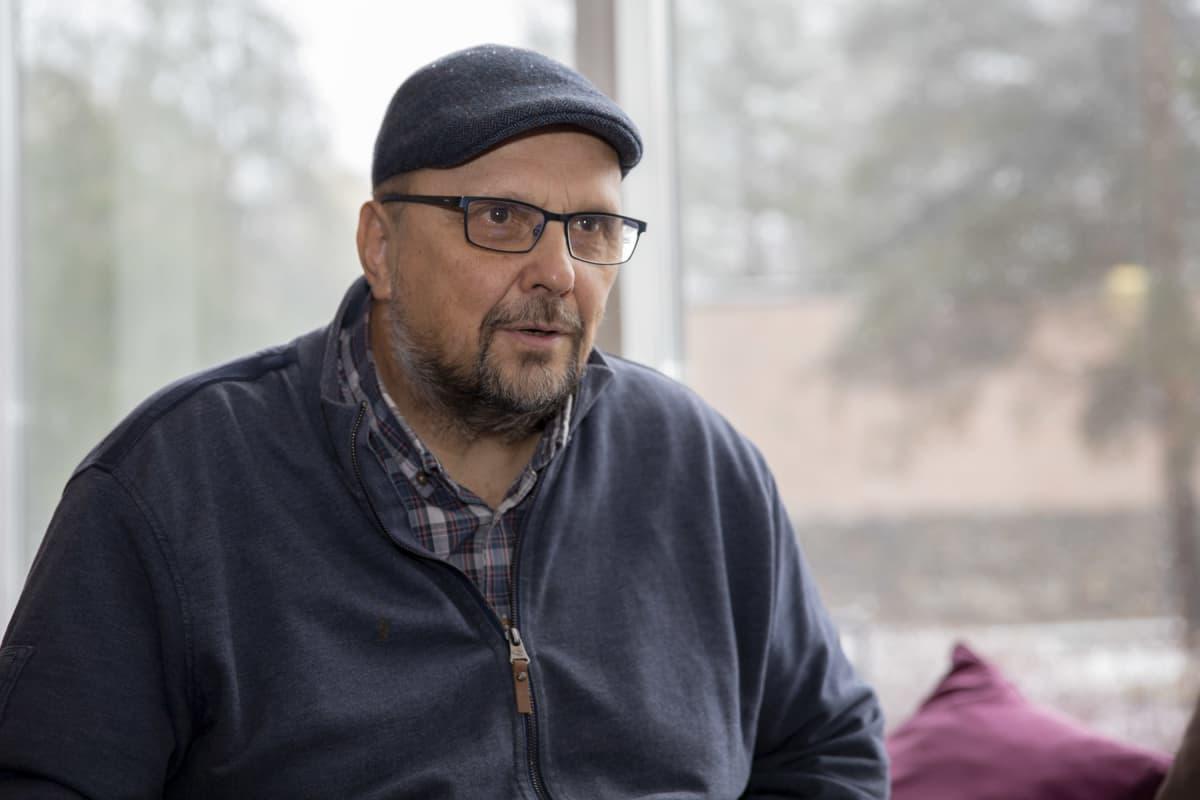 Itä-Suomen yliopiston professori Risto Turunen.