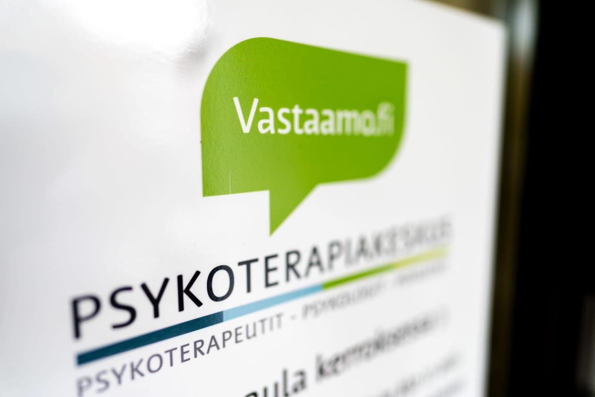 Psykoterapiakeskus Vastaamon logo.