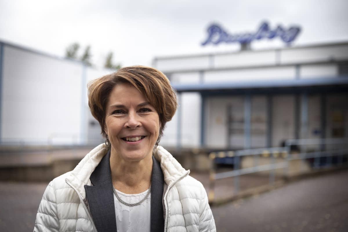 Brunbergin toimitusjohtaja Katarina Enholm