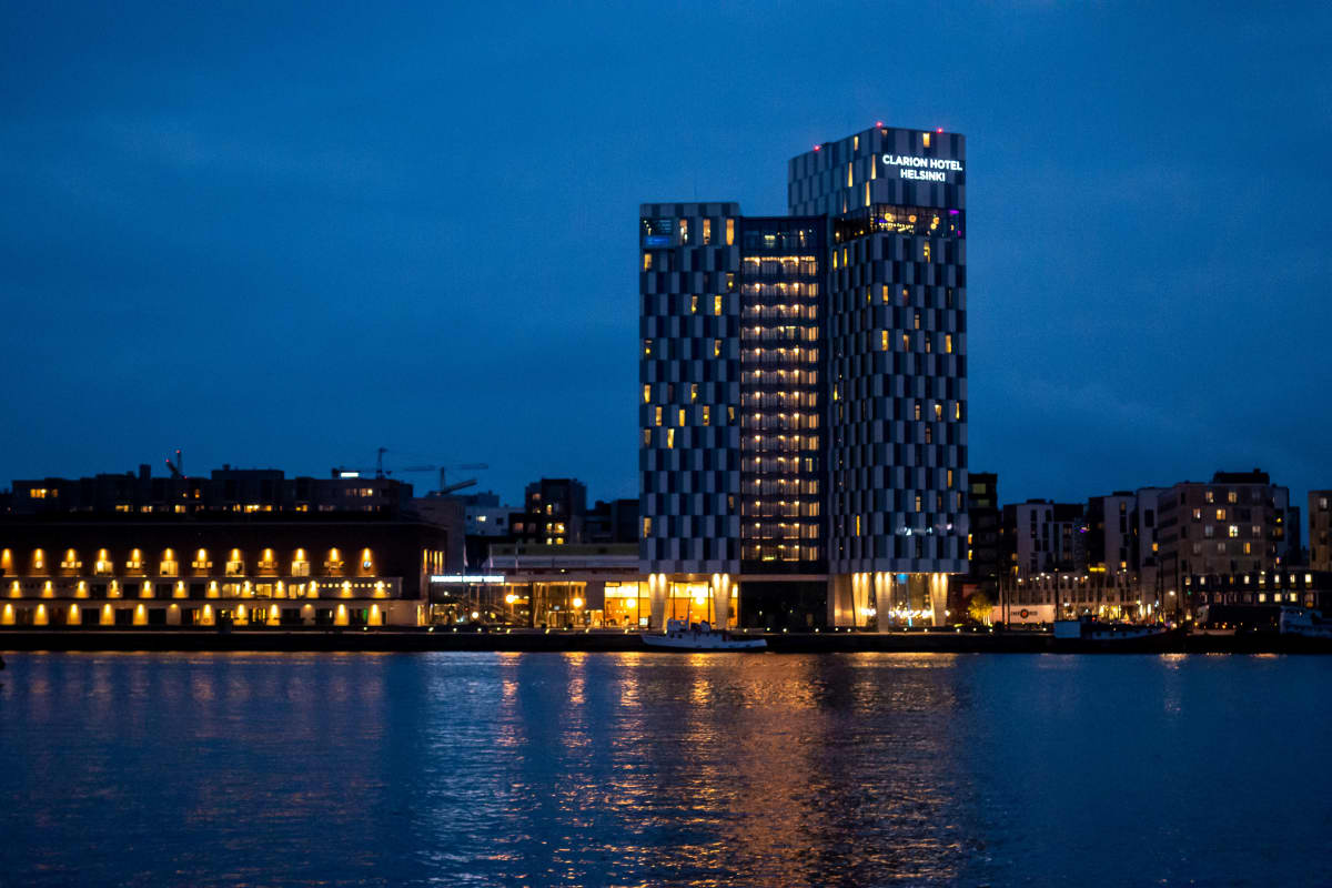 Hotelli Clarion Helsingissä.