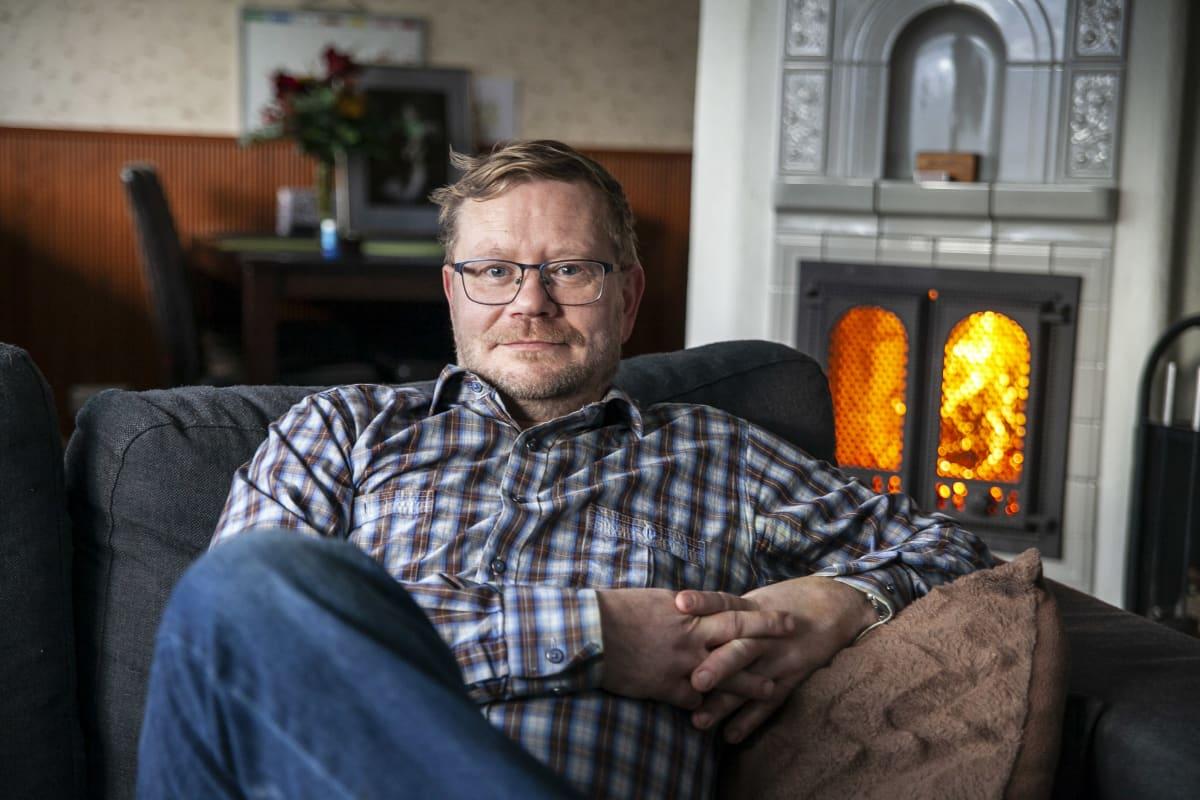 Vuoden isä 2020 palkittu Petri Hartikainen, Siilinjärvi