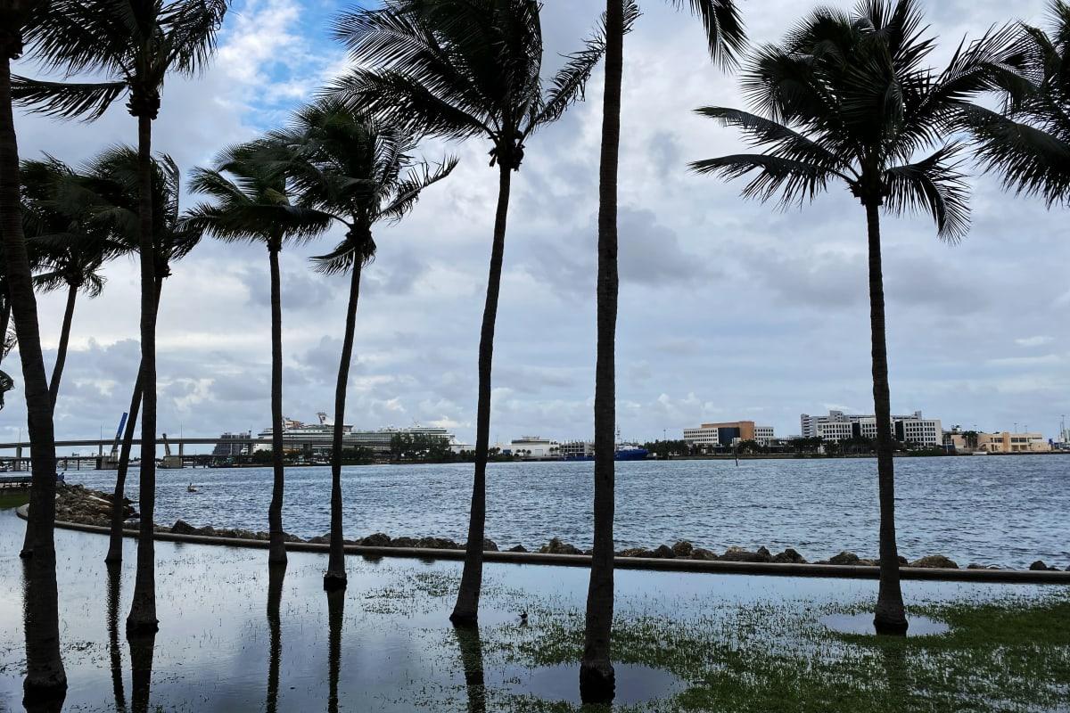Rantaa Miamissa Floridassa.