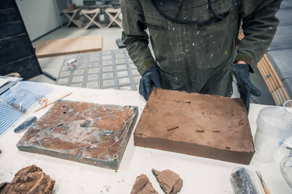 Maija Savolainen luo uudesta materiaalista taidetta jossa miettii millainen fossiili jäisi digitaalisesta valokuvasta.