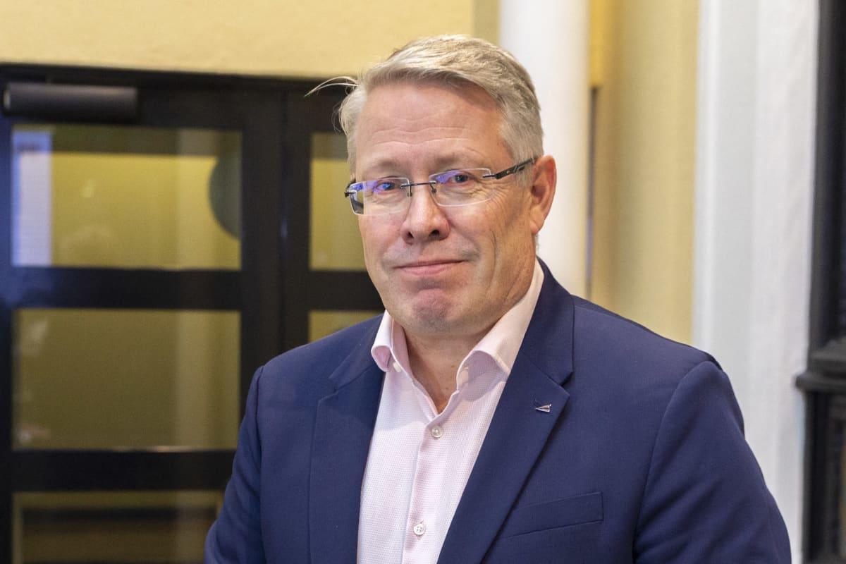 Timo Vuori, kansainvälisten asioiden johtaja, Keskuskauppakamari