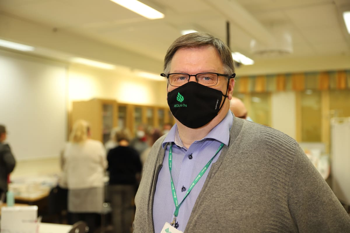 REDU EDU Oy:n toimitusjohtaja Kari Rekilä.