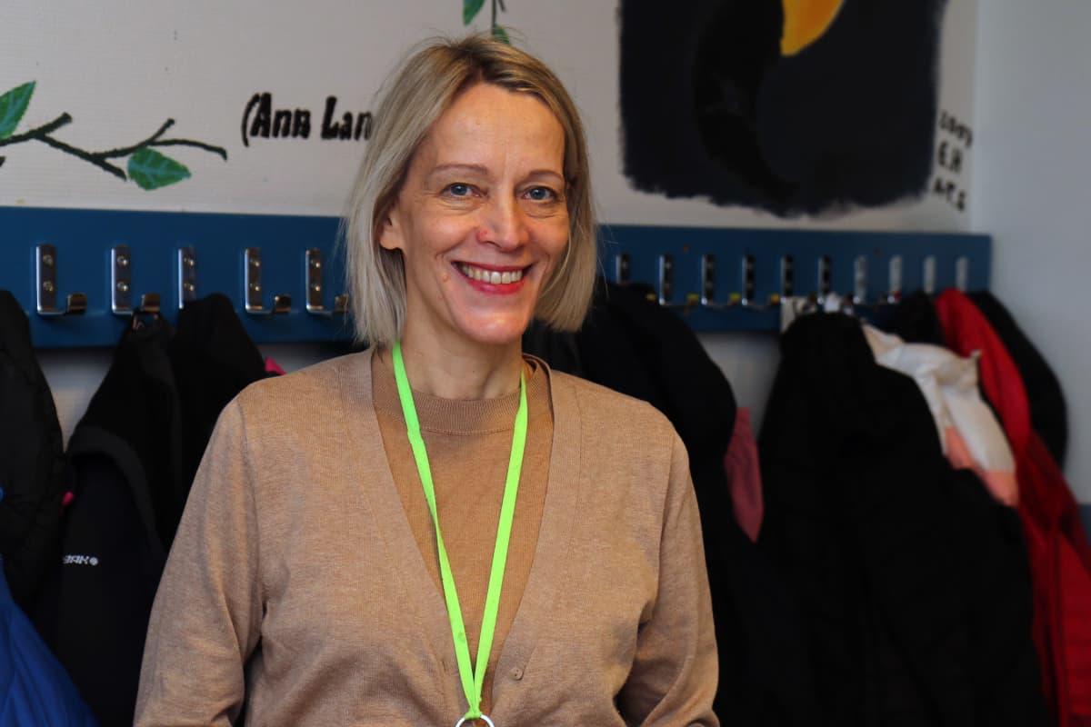 Sodankylän lukion rehtori Heidi Lakkala.