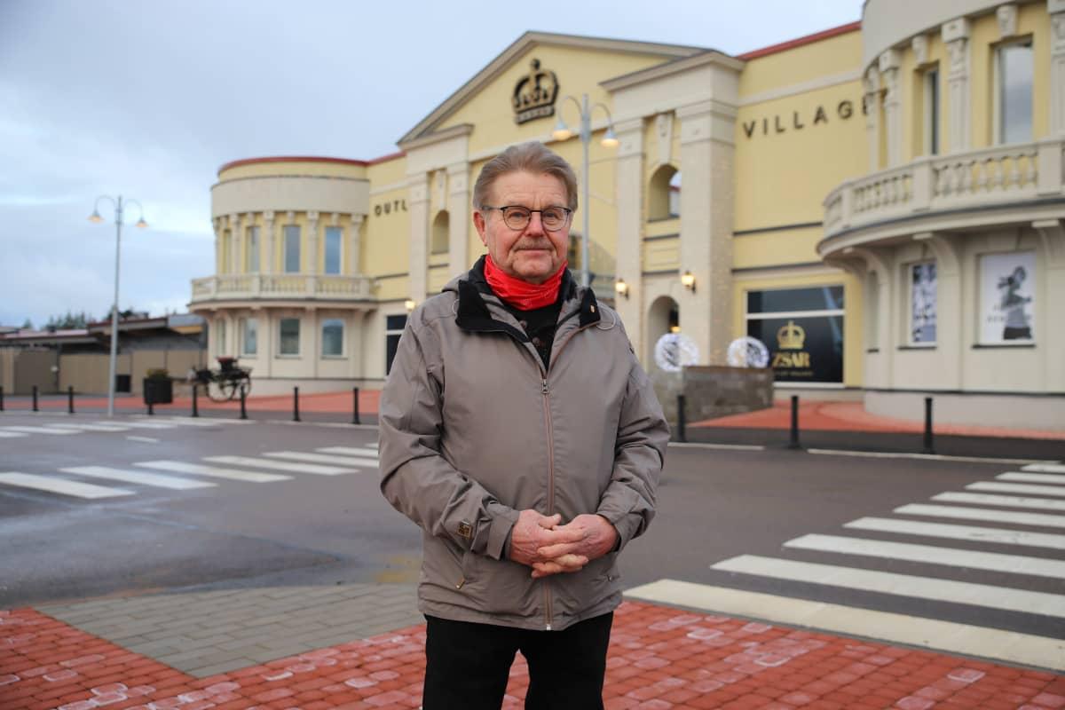Virolahden kunnanvaltuuston 1. varapuheenjohtaja Risto Kouki.