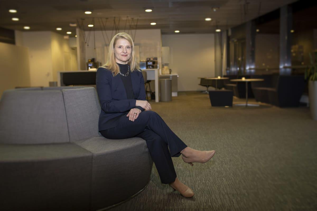 F-Securen henkilöstöjohtaja Eva Tuominen