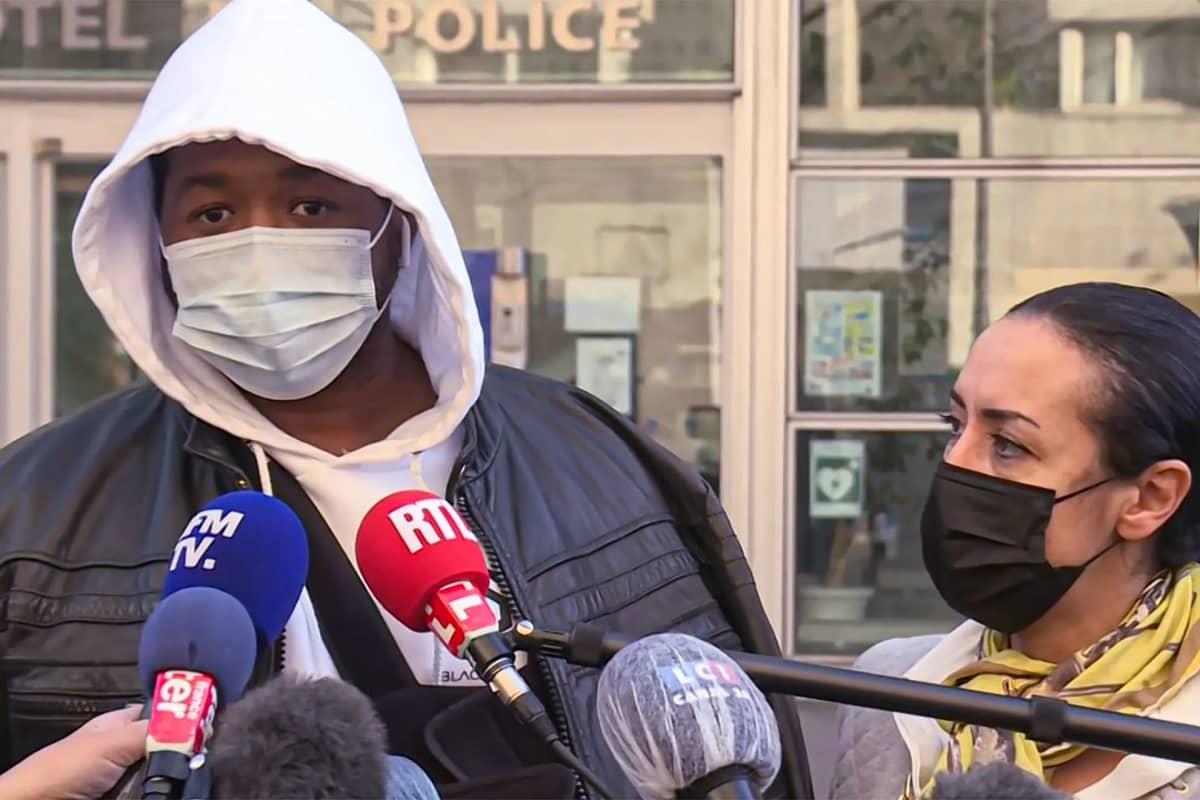 Musiikkituottaja Michel kertoi kokemastaan poliiväkivallasta torstaina ranskalaistoimittajille.