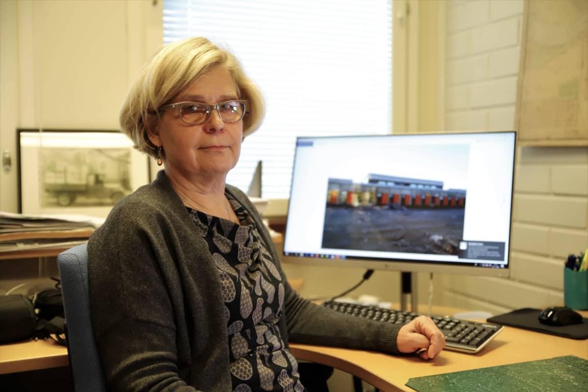 Rakennustutkija Liisa Nummelin