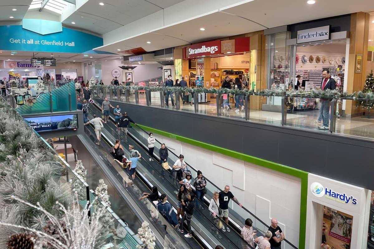 Glenfieldin ostoskeskus Aucklandissa Uudessa-Seelannissa