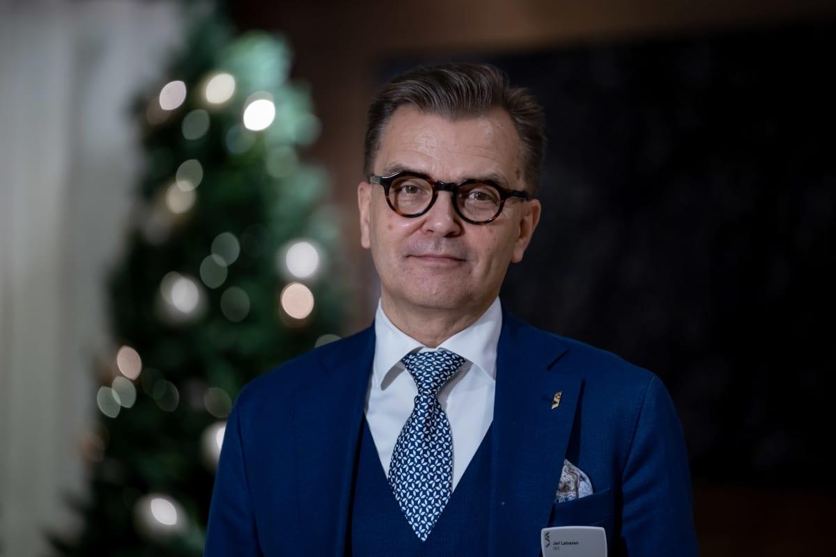 Stockmannin toimitusjohtaja Jari Latvanen, Stockmann, Helsinki, 14.12.2020.