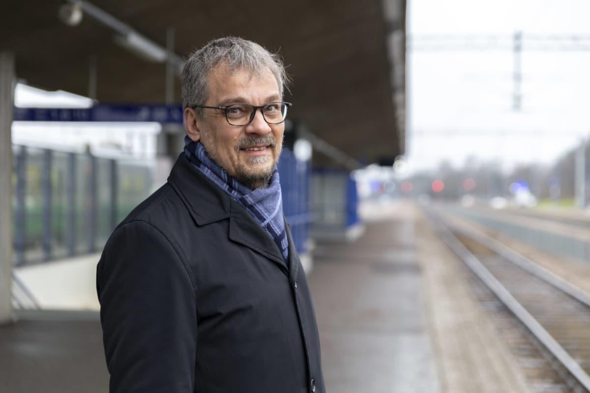 Petteri Portaankorva, kehitysjohtaja, Kouvolan kaupunki