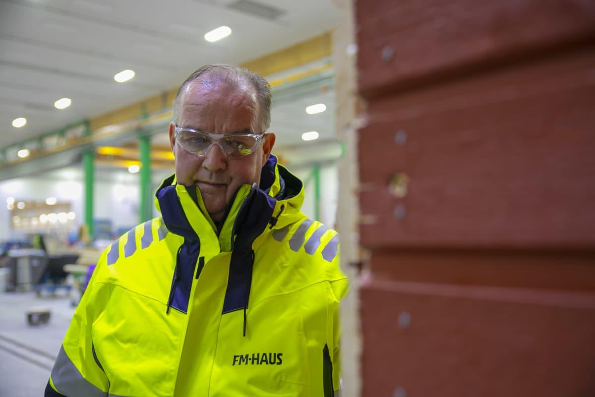 FM-Hausen tuotantolaitos Jokioisilla.