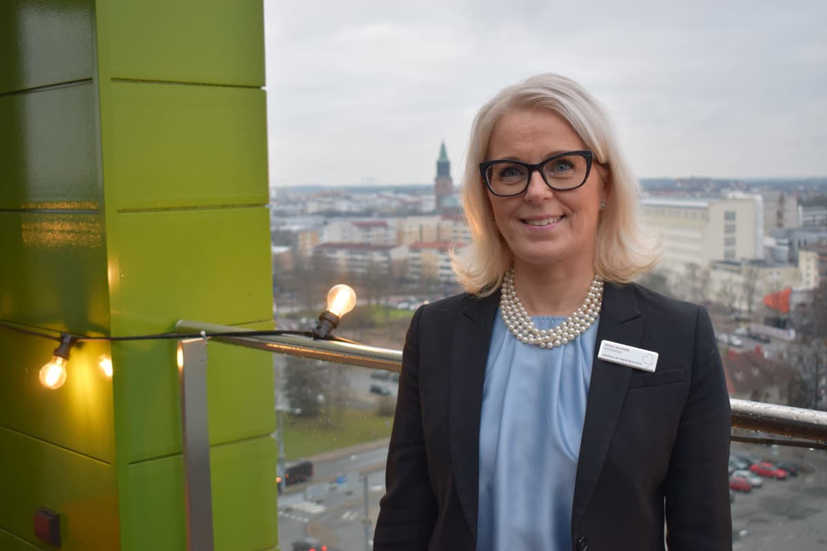 Sokos Hotel Kupittaan johtaja Tarja Jalonen.