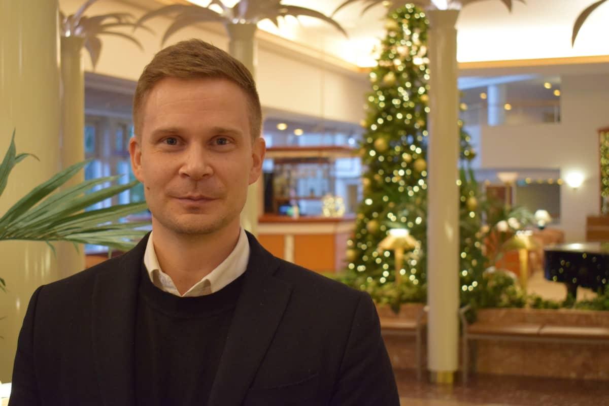 Myynti- ja markkinointijohtaja Joni Hakkarainen Sunborn Group Oy