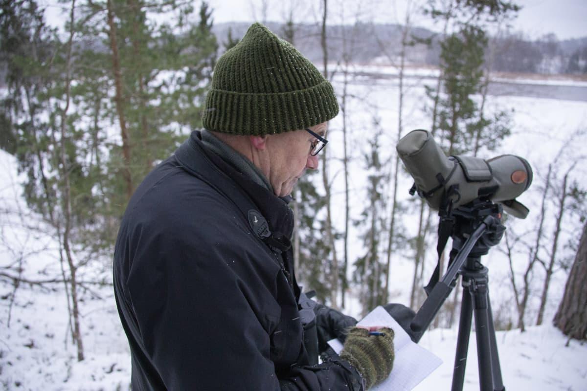 Jan Södersved, Birdlife Finland tiedottaja