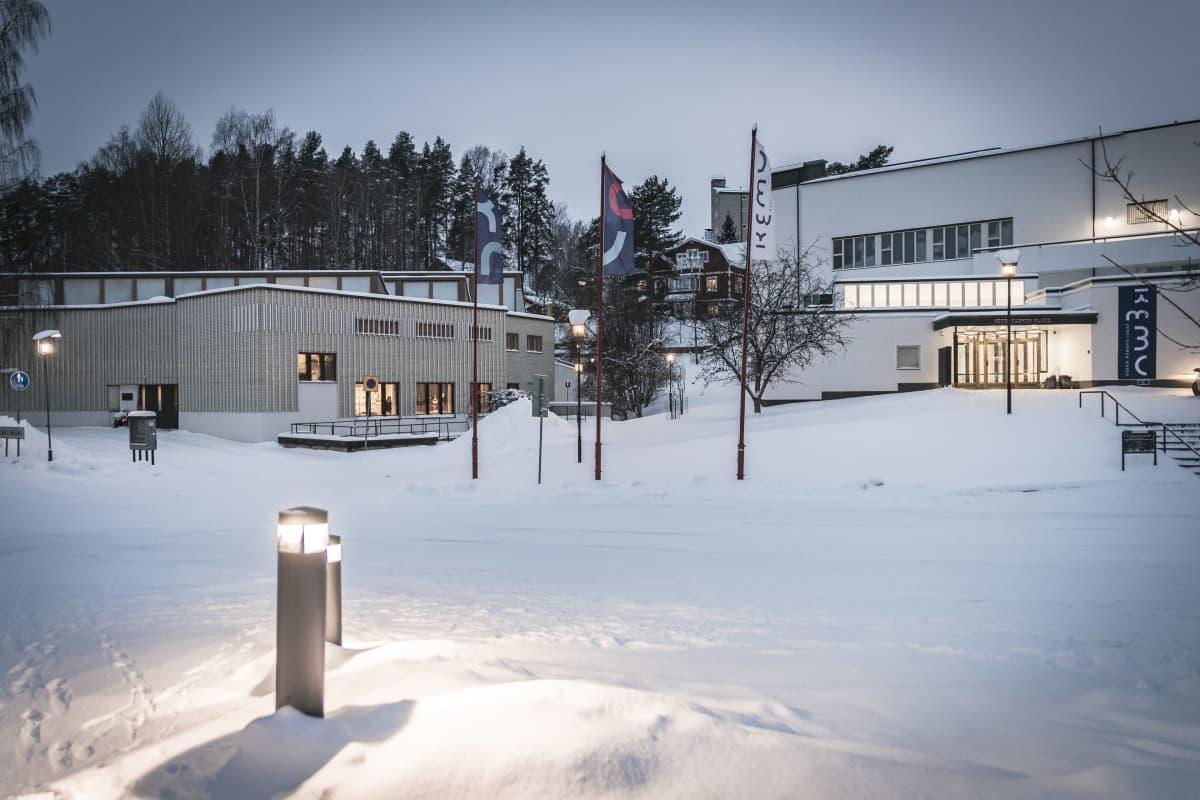 Alvar Aalto -museo ja Keski-Suomen museo.