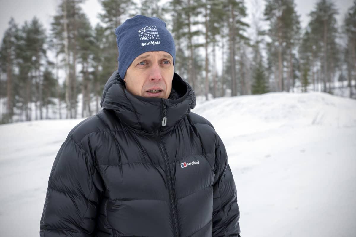 Jari Mäkelä Joupiskalla.