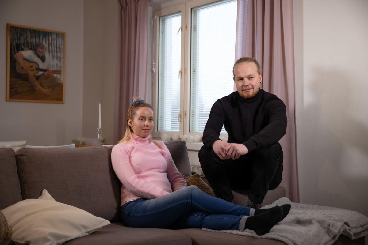 Sampo Nevalainen ja Mira Heiskanen