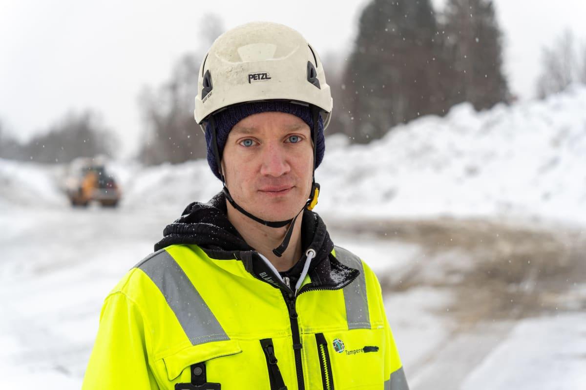 Hankeinsinööri Matti Pokkinen, Tampereen kaupunki.
