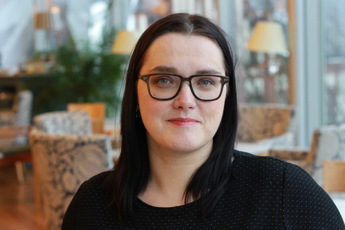 Tallinnalaisen Reaalkoolin äidinkielenopettaja Reet Varik.