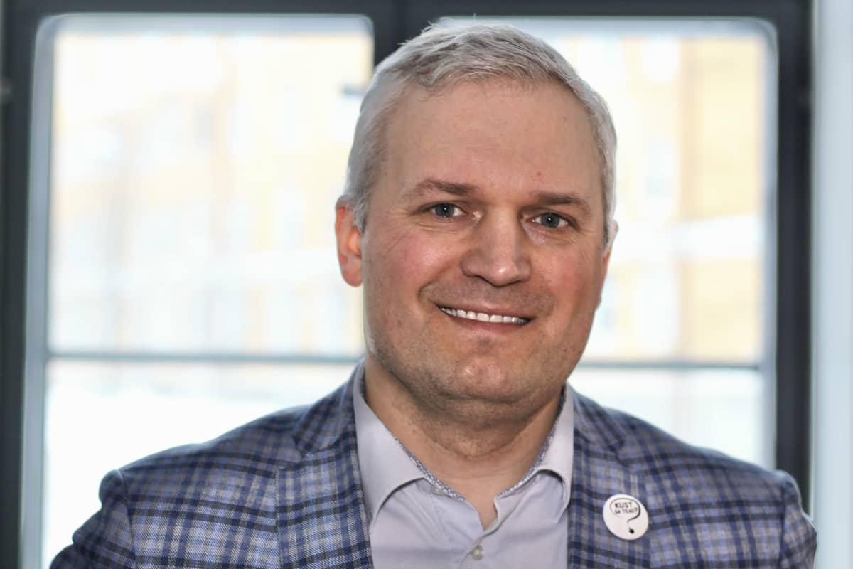 Virolaisen Fermi Energia yhtiön toimitusjohtaja Kalev Kallemets.