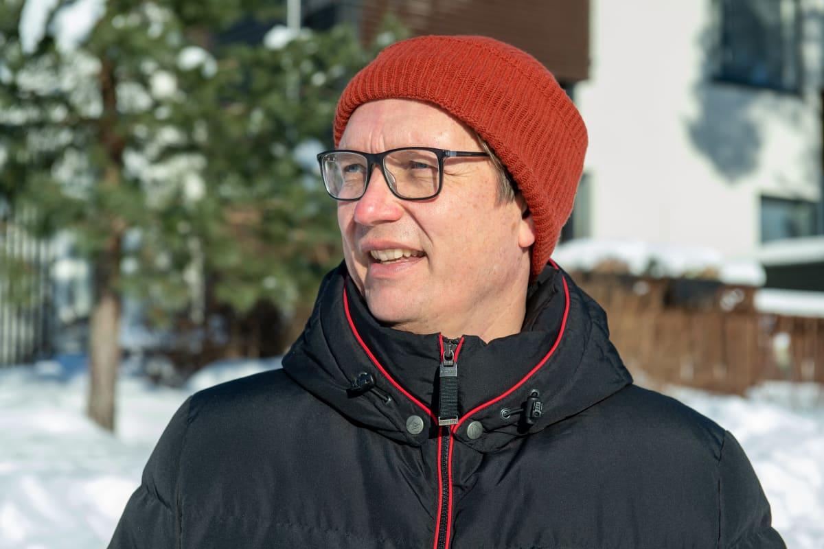 Suomen pankin neuvonantaja Risto Herrala.