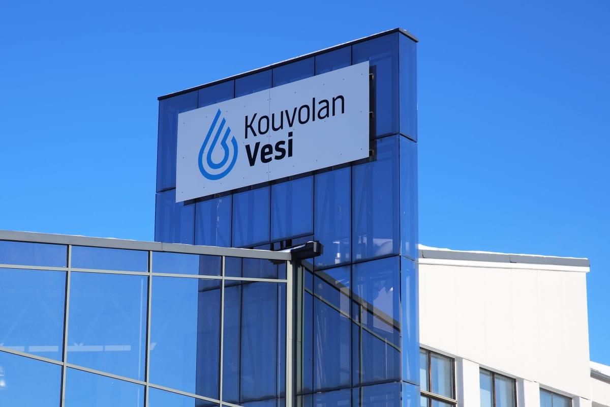 Kouvolan Veden konttori Kauppalankadulla Kouvolassa.