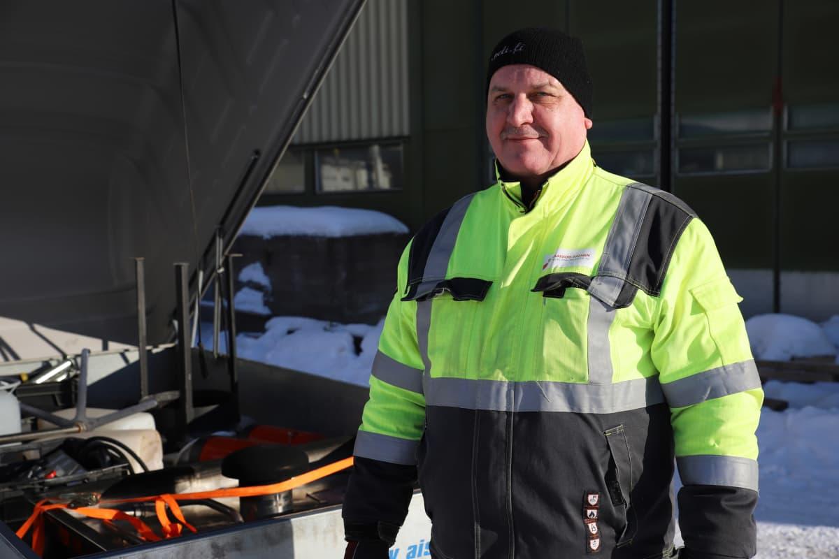 Kaakkois-Suomen Pelastusalanliiton toiminnanjohtaja Veli-Matti Aaltonen.