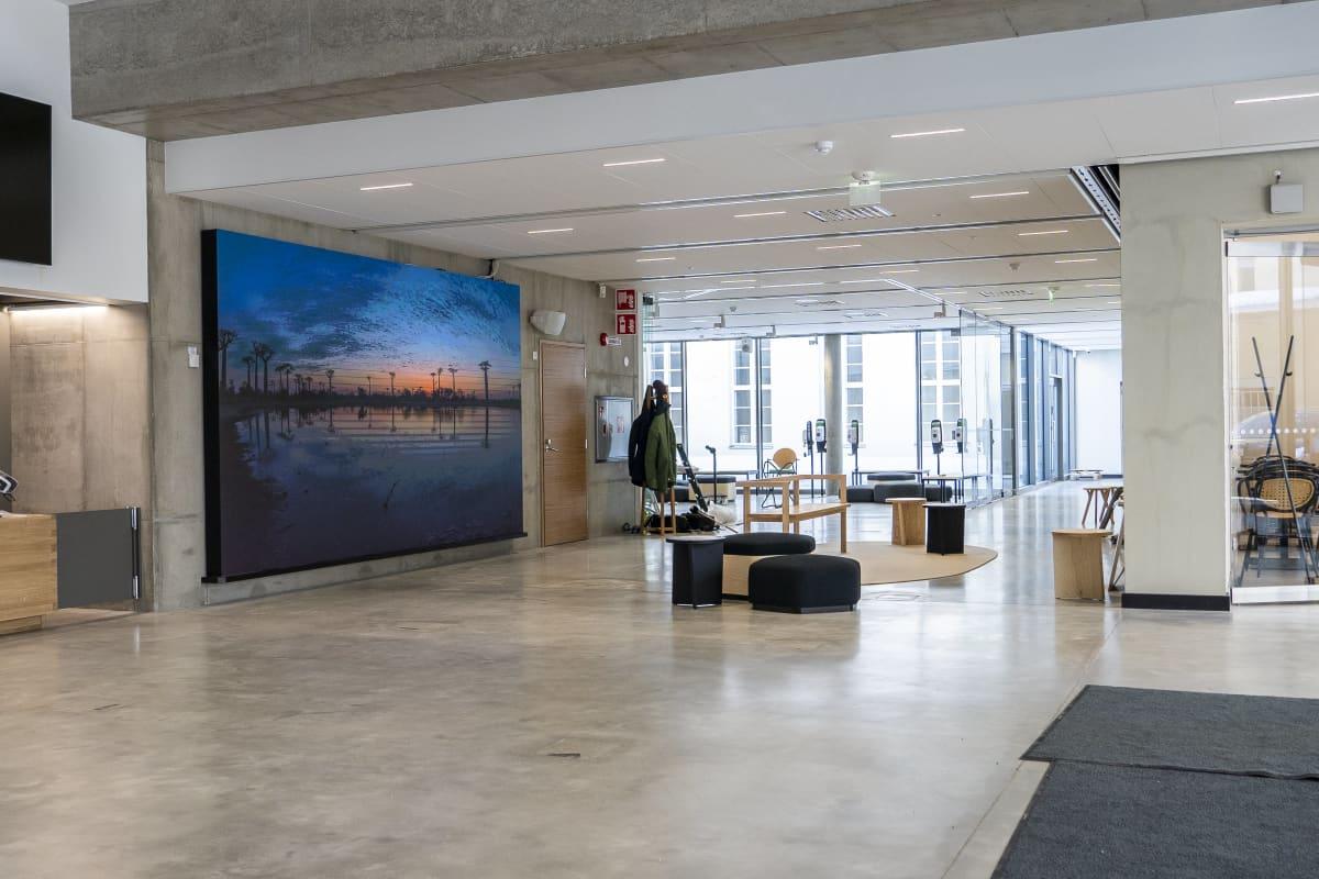 Kuopion museon kantin aulatiloja