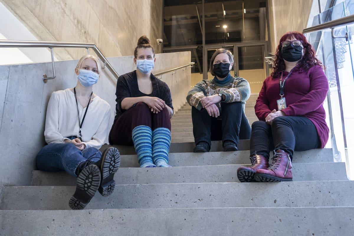 Kuopion museon työntekijöitä