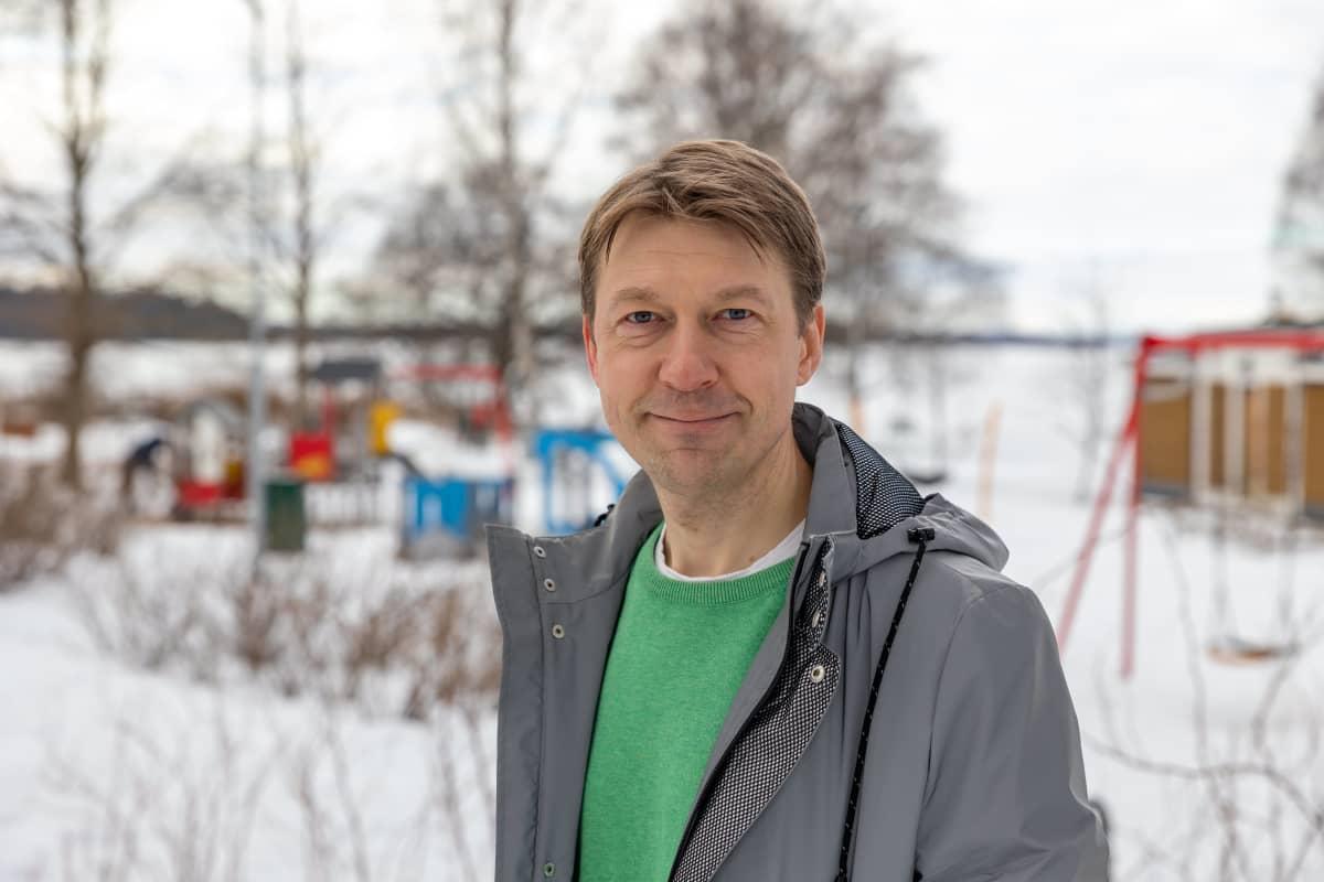 OAJ Pirkanmaan puheenjohtaja Matti Helimo
