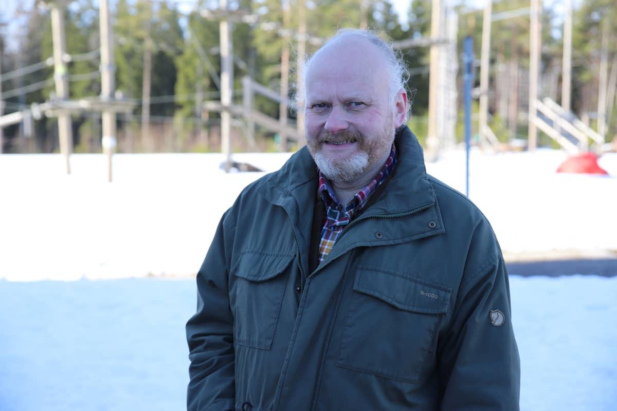 Kuvassa museohankkeen projektipäällikkö Timo Kukko