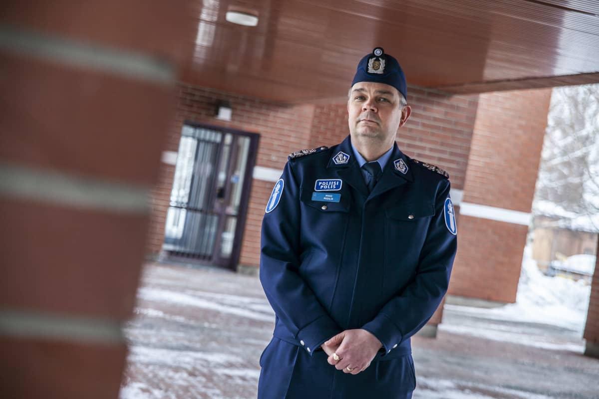 Itä-Suomen poliisipäällikkö Mikko Masalin