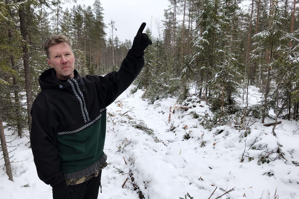 Erikoistutkija Markku Saarinen, Luonnonvarakeskus