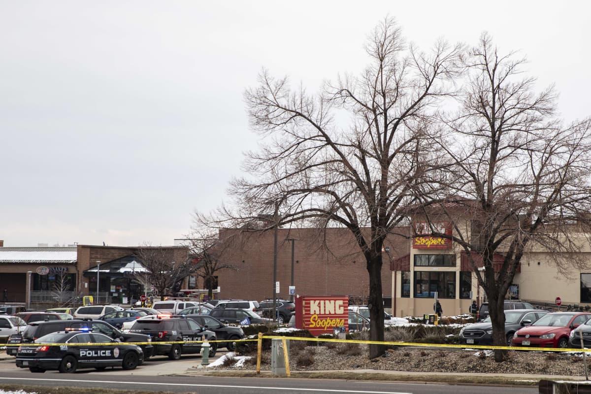 Matbutiken King Suupers i Boulder i Colorado där en skottlossning inträffade
